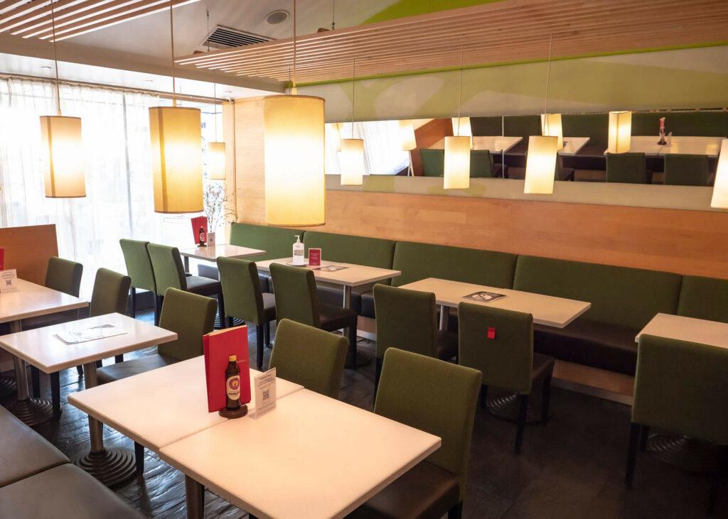 Das Akakiko Restaurant auf der Favoritenstraße.